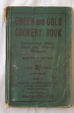 Green and Gold Cookery Book by King's College