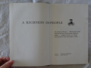 A Richness Of People by John Miles