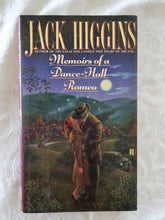 Load image into Gallery viewer, Memoirs of a Dance-Hall Romeo by Jack Higgins