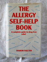 Load image into Gallery viewer, The Allergy Self-Help Book by Sharon Faelten