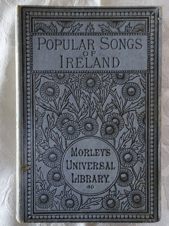 Popular Songs of Ireland by Thomas Crofton Croker