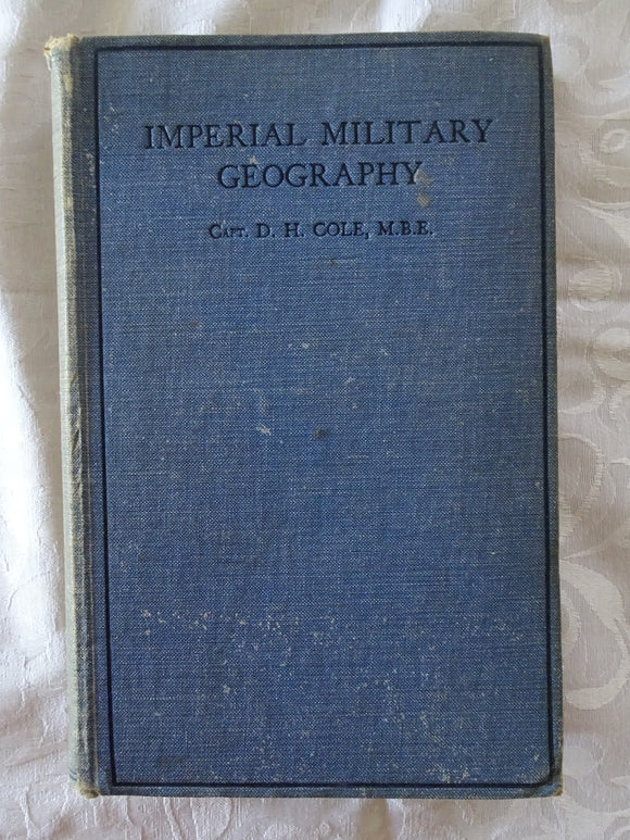 Imperial Military Geography by Captain D. H. Cole
