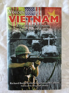 Voices from Vietnam by Richard Burks Verrone and Laura M Calkins