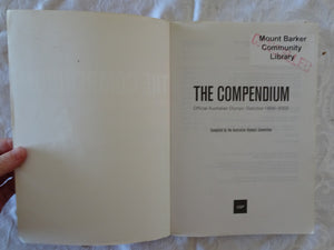 The Compendium Official Australian Olympic Statistics 1896-2002