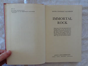 Immortal Rock by Laura Goodman Salverson
