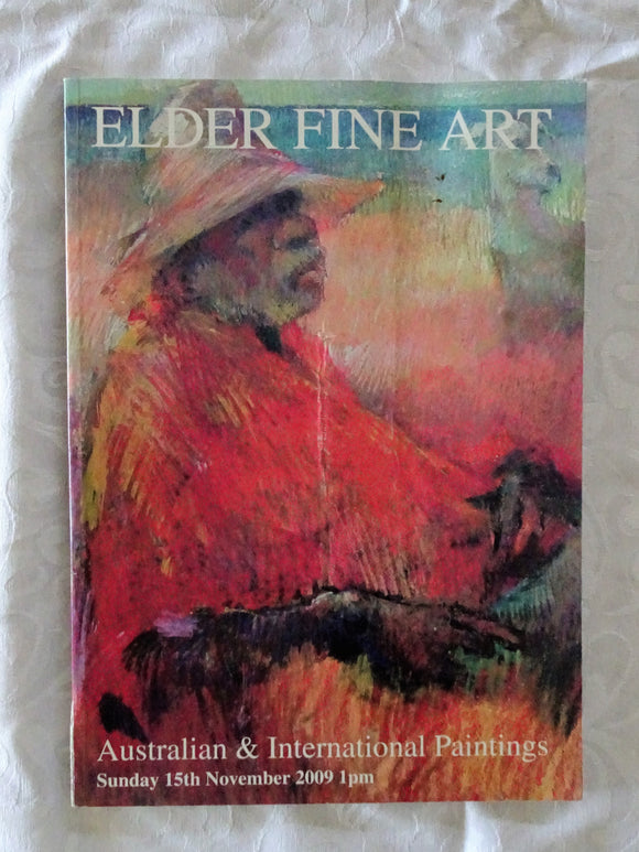 Elder Fine Art Australian & International Paintings 2009