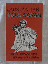 Load image into Gallery viewer, Australian Folk Songs by Ron Edwards