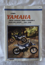 Load image into Gallery viewer, Clymer Yamaha PW50 Y-Zinger, PW80 Y-Zinger & BW80 Big Wheel 1981-1998