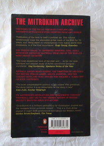 The Mitrokhin Archive by Christopher Andrew and Wasili Mitrokhin