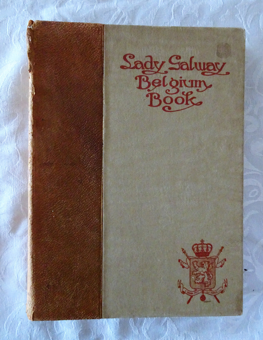 Lady Galway Belgium Book