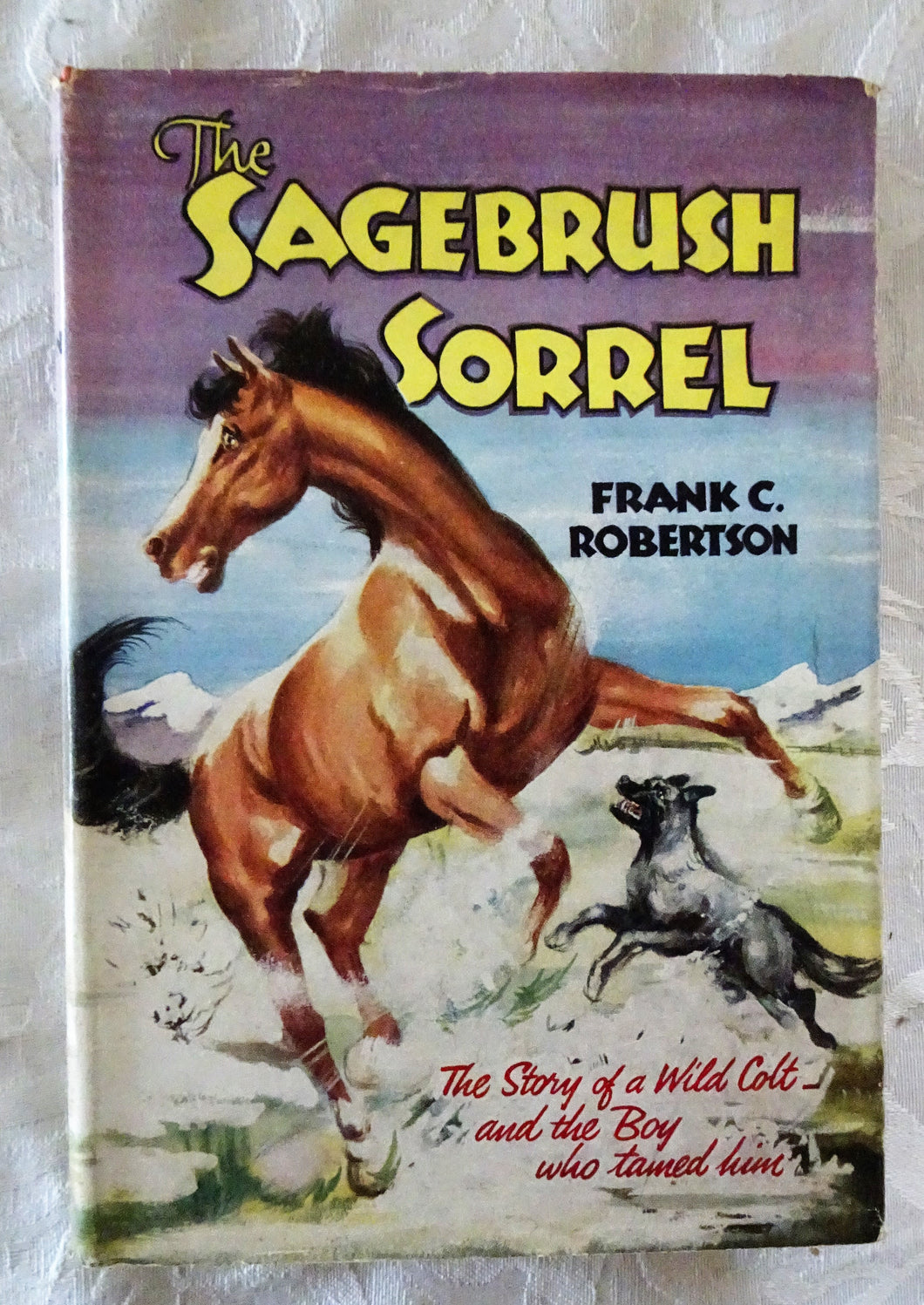 The Sagebrush Sorrel by Frank C. Robertson