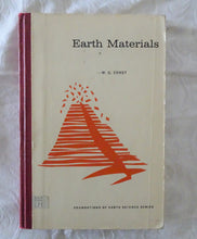 Load image into Gallery viewer, Earth Materials by W. G. Ernst