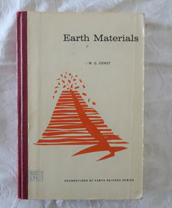 Earth Materials by W. G. Ernst
