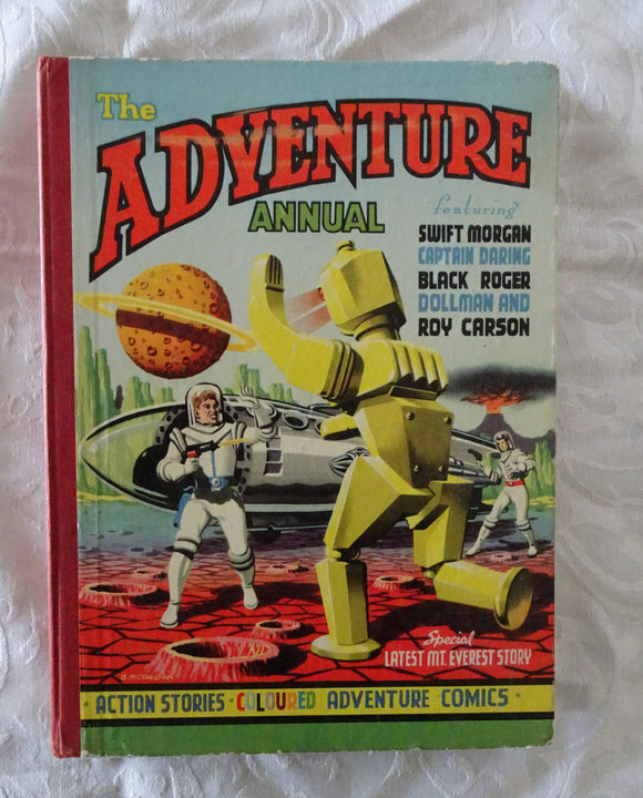 The Adventure Annual by The Popular Press