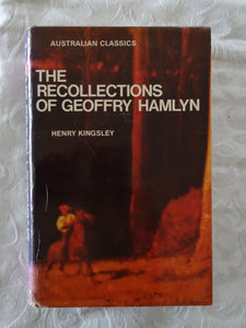 The Recollections of Geoffry Hamlyn by Henry Kingsley