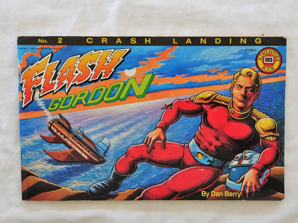 Flash Gordon No. 2 Crash Landing by Dan Barry