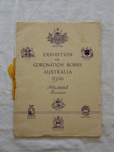 Exhibition of Coronation Robes Australia 1938