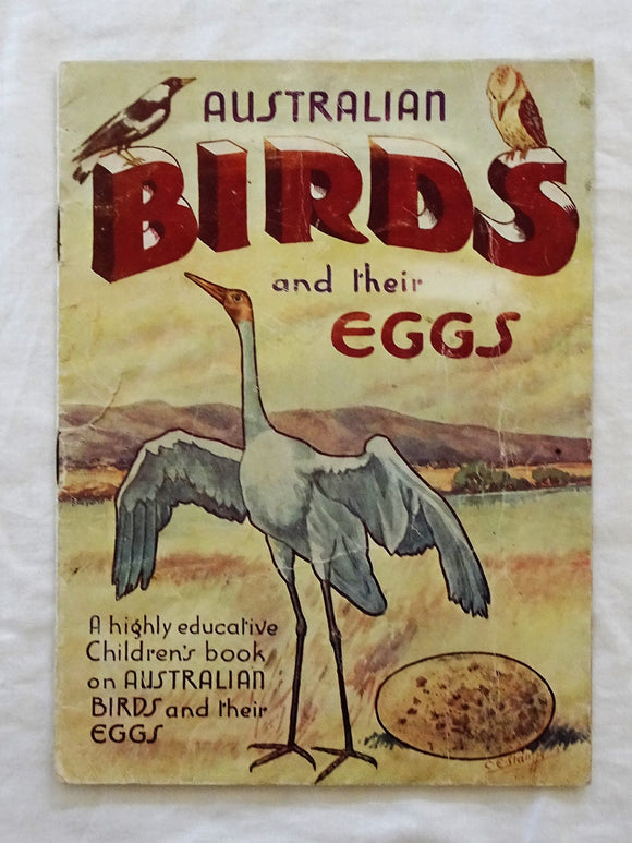 Australian Birds and their Eggs by C. E. Stamp
