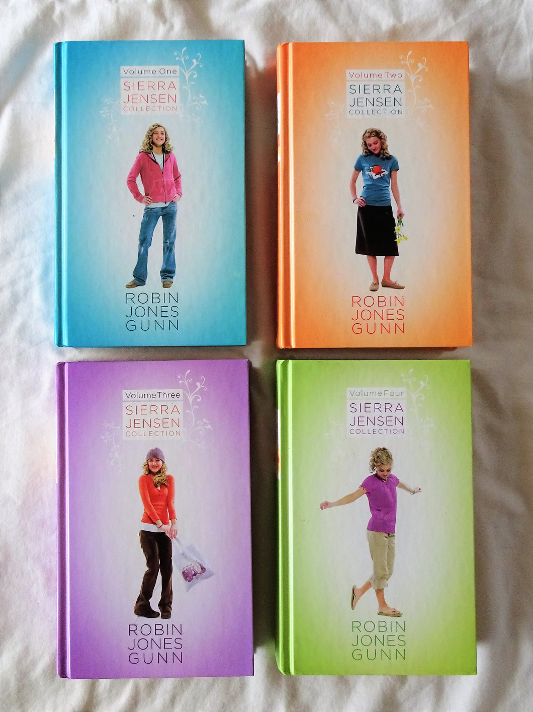 Sierra Jensen Collection Volumes 1 - 4 Complete by Robin Jones Gunn