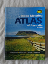 Load image into Gallery viewer, Concise Motoring Atlas of Australia by UBD