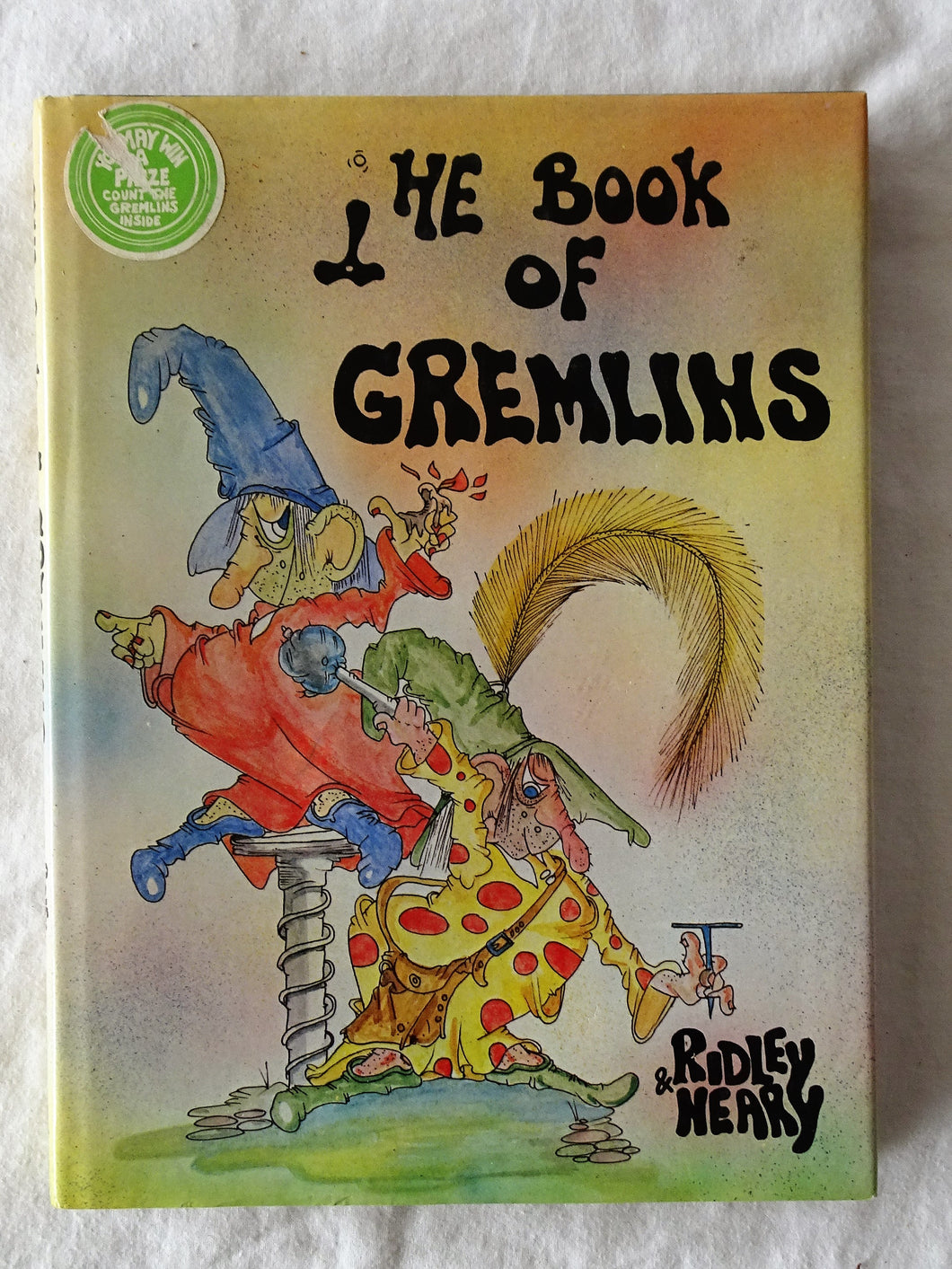 The Book of Gremlins by Michael Ridley and Bryan Neary