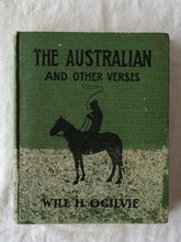Load image into Gallery viewer, The Australian And Other Verses by Will H. Ogilvie