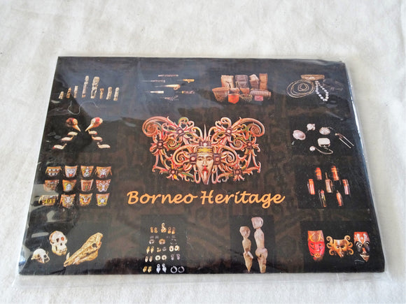 Borneo Heritage Series Postcard Set by Art House Gallery