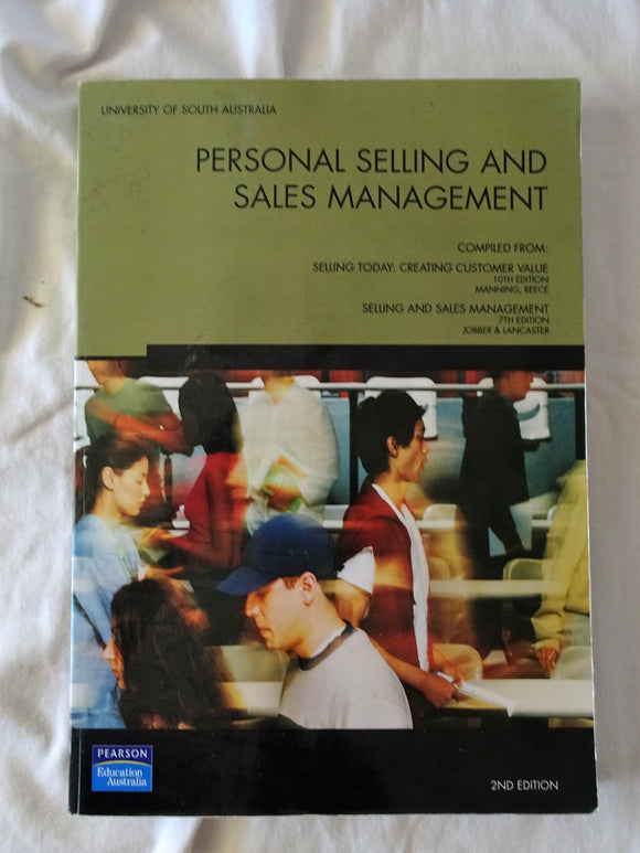 Personal Selling and Sales Management by University of South Australia