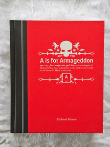 A is for Armageddon by Richard Horne