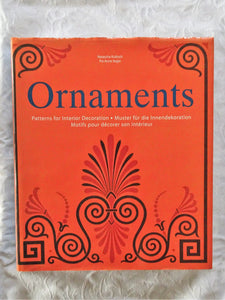 Ornaments Patterns for Interior Design by Natascha Kubisch and Pia Anna Seger