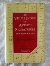 Load image into Gallery viewer, The Visual Index of Artists' Signatures and Monograms by Radway Jackson