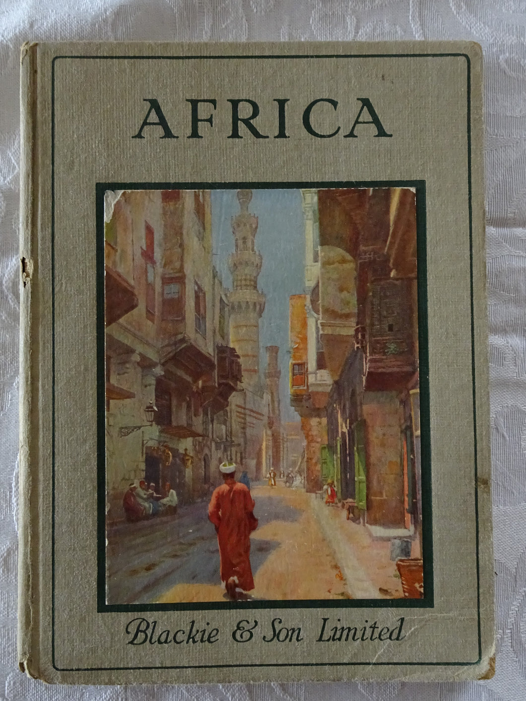 Africa  The Rambler Travel Books by Lewis Marsh