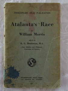 Atalanta's Race by William Morris