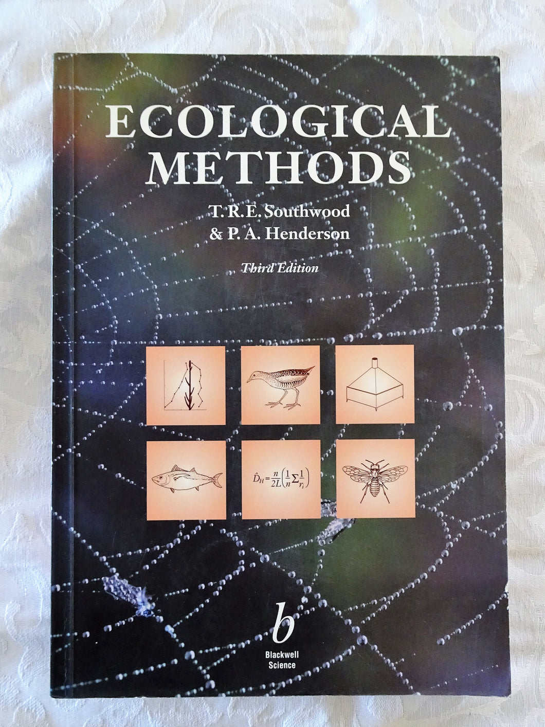 Ecological Methods by T.R.E. Southwood & P.A. Henderson