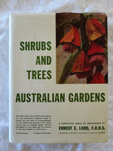 Load image into Gallery viewer, Shrubs and Trees for Australian Gardens by Ernest E. Lord