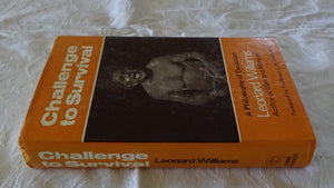 Challenge to Survival by Leonard Williams