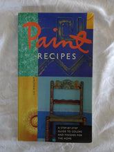 Load image into Gallery viewer, Paint Recipes by Liz Wagstaff