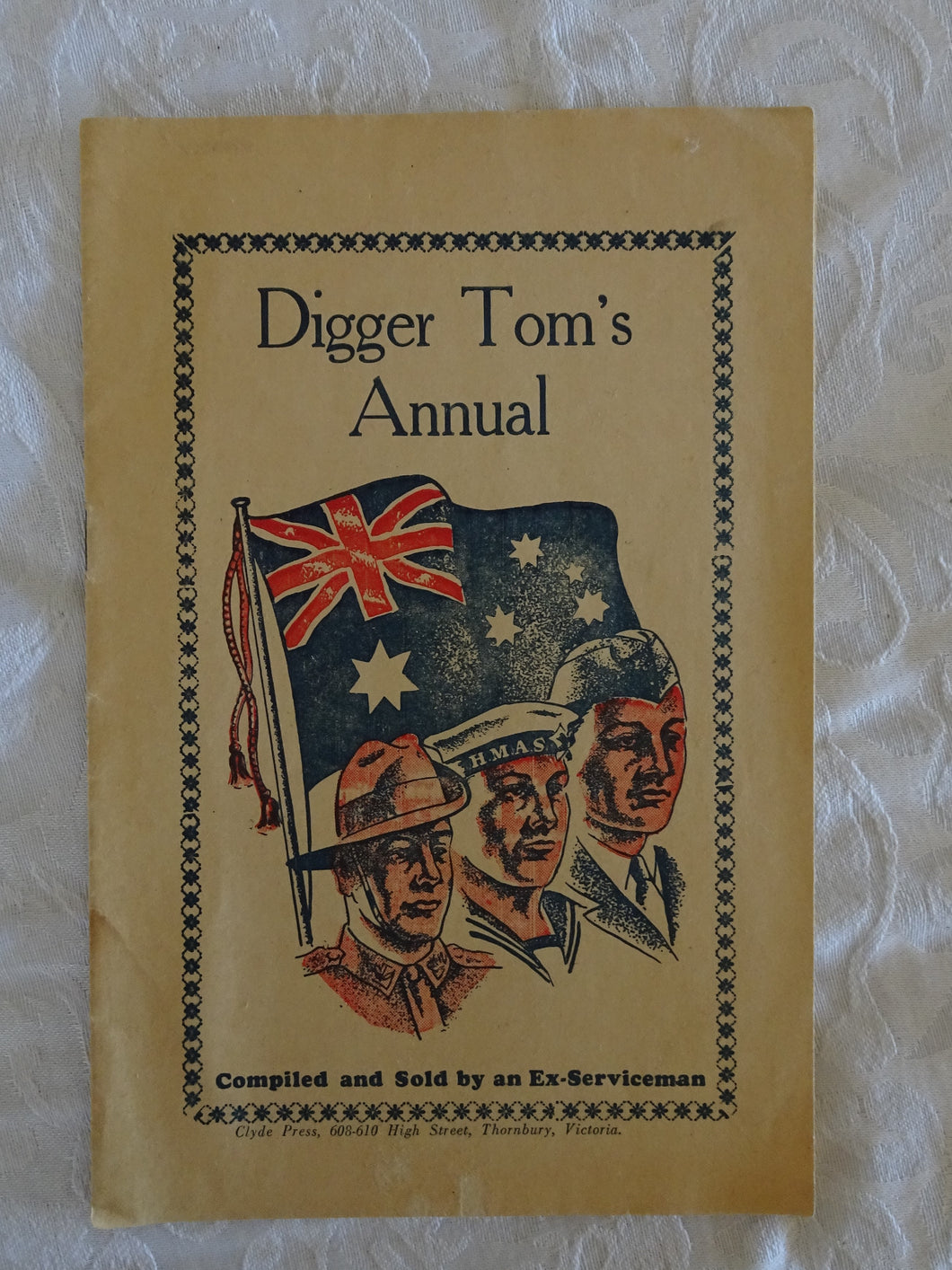 Digger Tom's Annual by Tom Bonola