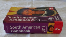Load image into Gallery viewer, South American Handbook 2011 by Ben Box