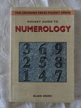 Load image into Gallery viewer, Pocket Guide To Numerology by Alan Oken