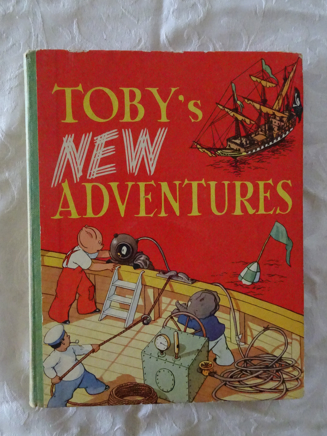 Toby's New Adventures by Sheila Hodgetts