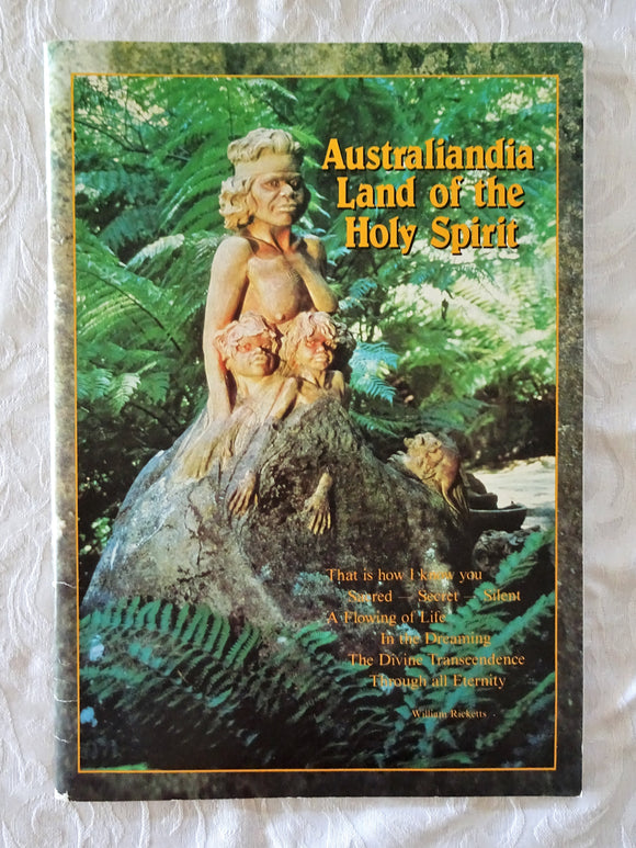 Australiandia Land of the Holy Spirit by William Rickets