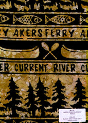 Akers Ferry Black & Gold