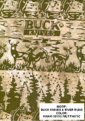 Buck Knives Green & Khaki