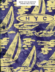 HYC Zephyr Blue & Gold