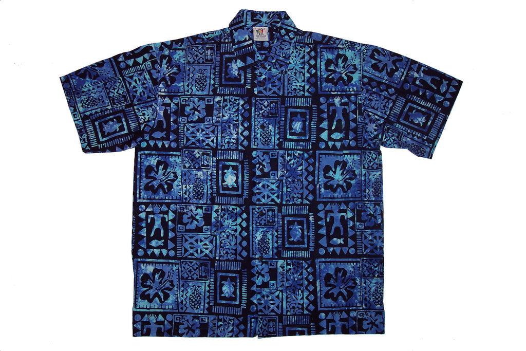 Bahama_Rama_Batik_Rum_Reggae_Clothing_Handmade_Cabana_Shirt_Flower_Hibiscus_Living_Garden_Rainforest_Bahamas_Polynesian_Reef_Vacation_Holiday_Island_Indonesia_Bali_Java_Hawaii_Caribbean_Equator_California_Tahiti_Fishes_Shell_Shells_Style_Lagoon