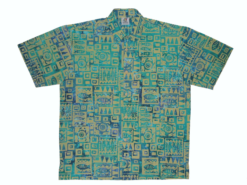 Cabana Shirt - Marine Mode