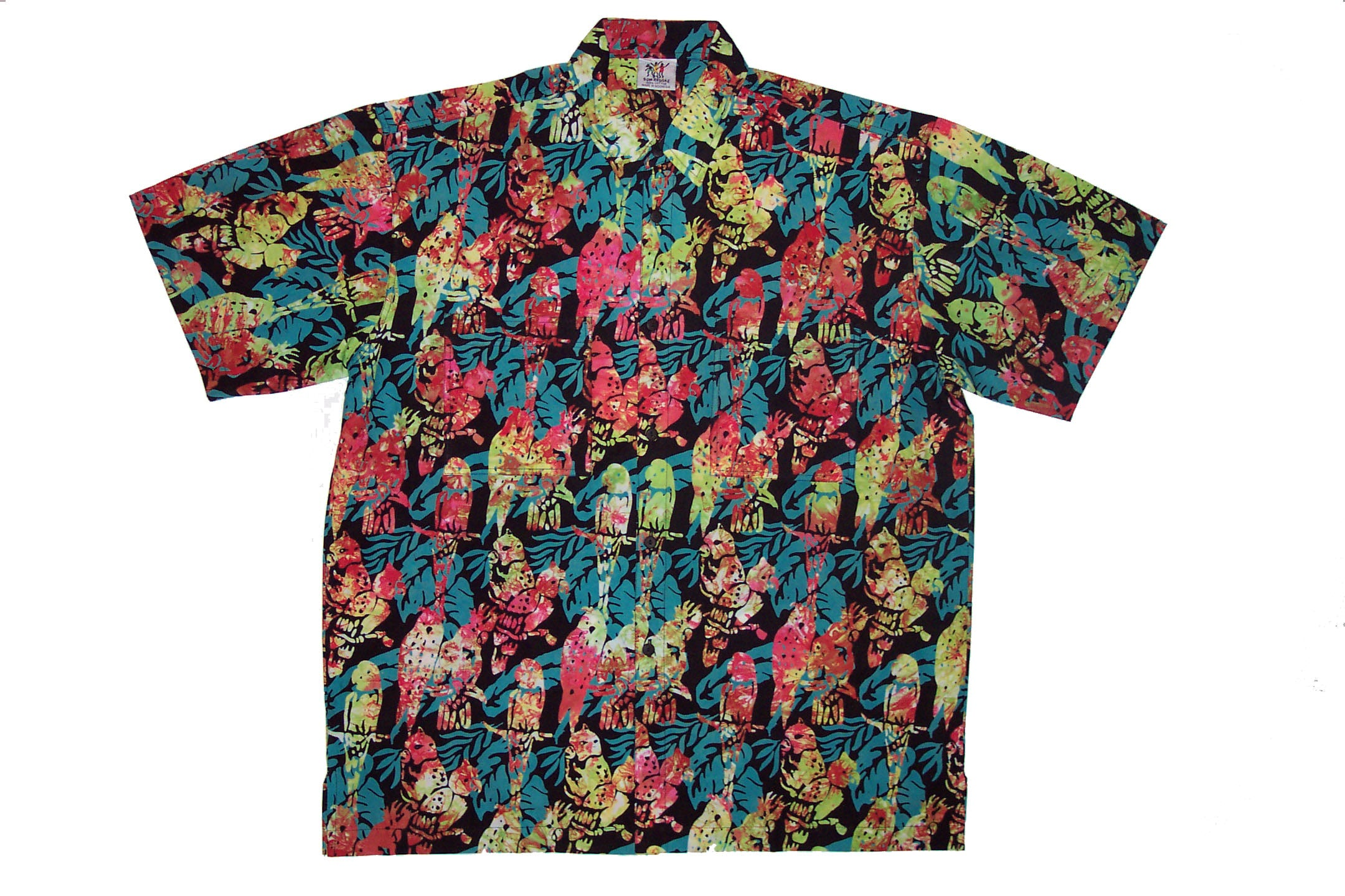 Cabana Shirt - Parrot Fashion