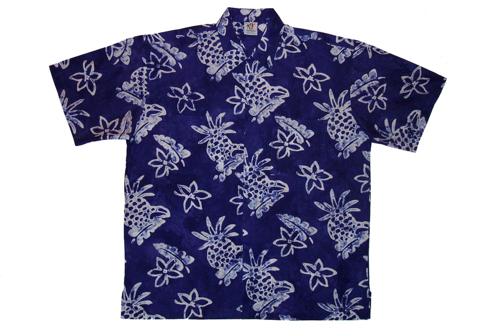 Cabana Shirt - Pineapple Blossom