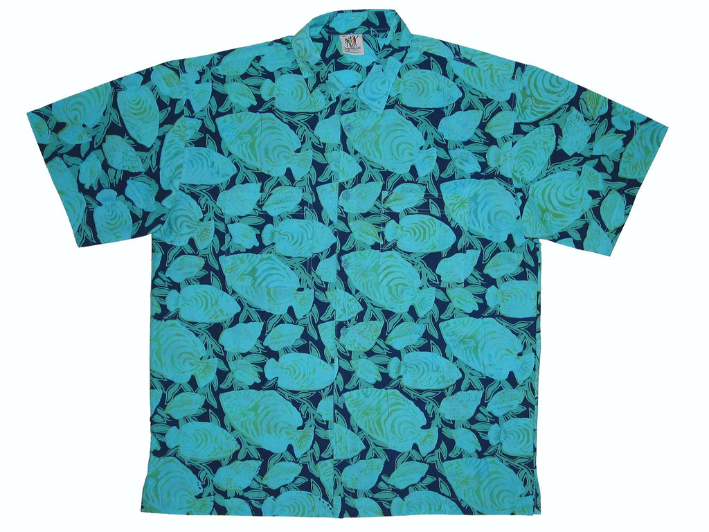 Cabana Shirt - Water Colors